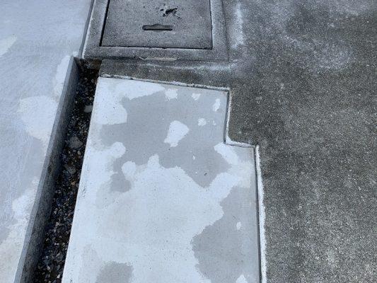 東京都清瀬市、ガレージのコンクリート色むら|床塗装で改善できた