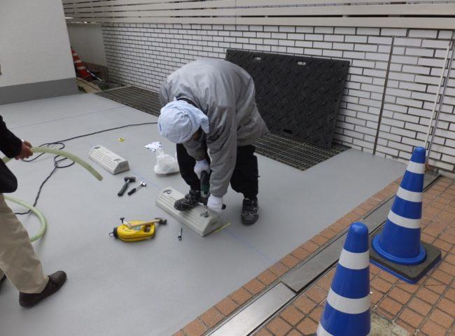 神奈川県横浜市|防食工事:ケミクリートSVライニング