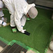 耐熱性塗床(床塗装)施工