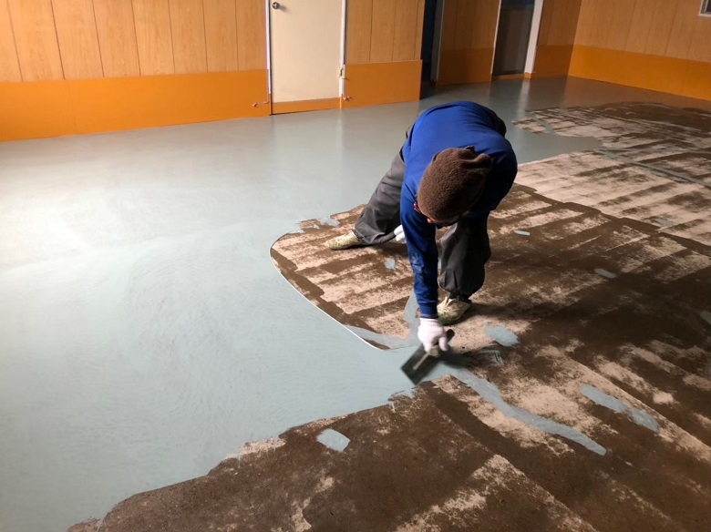 床の下地処理