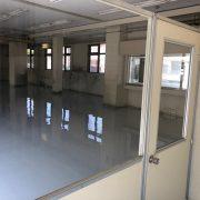 塗床の施工後