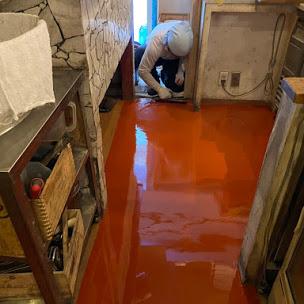 タフクリートFL(水性硬質ウレタン塗床材)