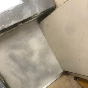 床コンクリートの研摩