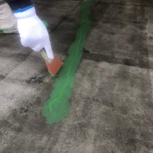 床塗装前のコンクリート