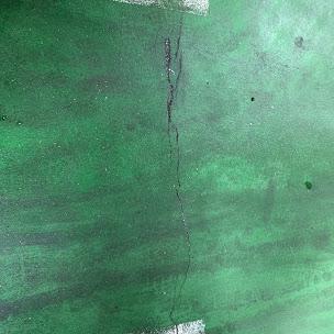 既存の剥がれてしまった床塗装